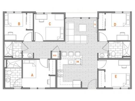 5 x 3 Terrace