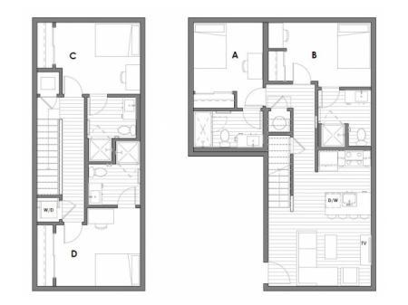 4x4 Townhouse