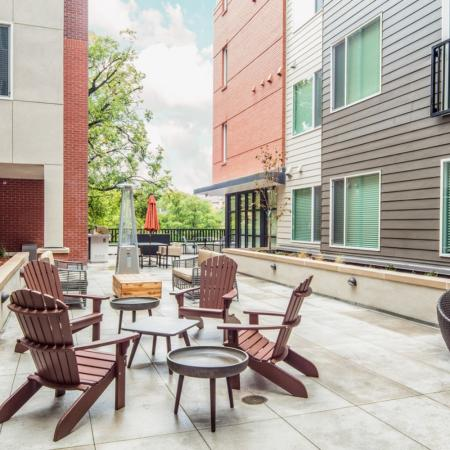 Resident Courtyard | Apartments In Fort Collins Near Csu | Uncommon Fort Collins