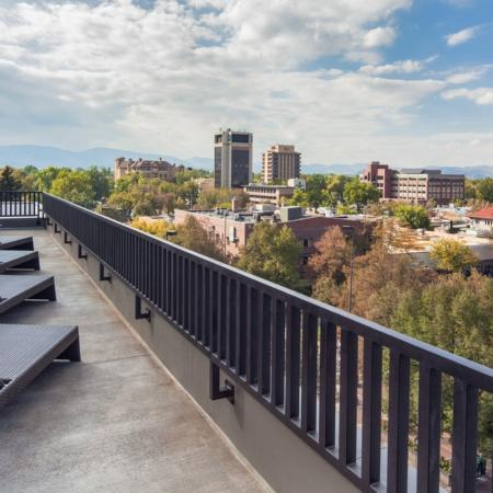 Resident Roof Deck | Apartments In Fort Collins Near Csu | Uncommon Fort Collins
