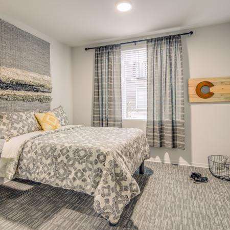 Spacious Bedroom | Fort Collins Colorado Apartments | Uncommon Fort Collins