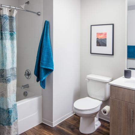 Ornate Bathroom | Apartments In Fort Collins Near Csu | Uncommon Fort Collins