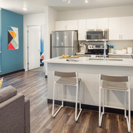 State-of-the-Art Kitchen | Columbia Missouri Apartments | Rise on 9th