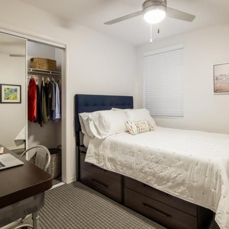 Spacious Bedroom | Campus Walk Apartments Oxford Ms | Uncommon Oxford