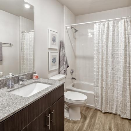 Elegant Bathroom | Ole Miss Rentals Oxford Ms | Uncommon Oxford