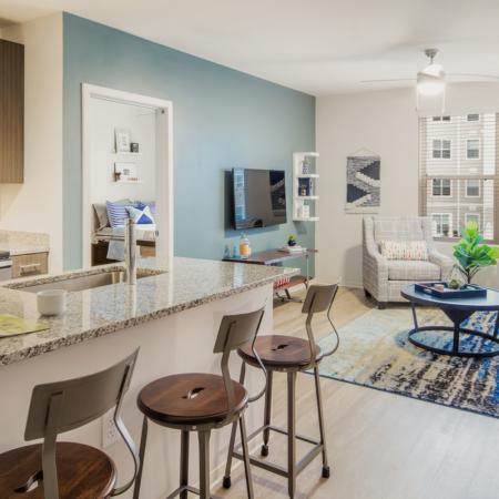 Spacious Living Room | Auburn Apartments | Evolve Auburn