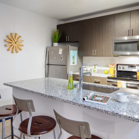 Spacious Living Room 1 | Auburn Apartments | Evolve Auburn