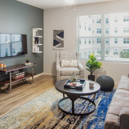 Spacious Living Room 2 | Auburn Apartments | Evolve Auburn