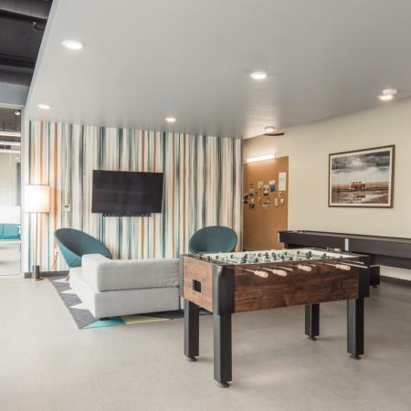 Resident Game Room | Reno Apartments Near Unr | Identity Reno