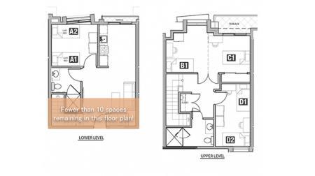 4x2 - Single Balcony