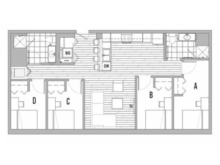 4x2 A Terrace