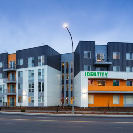 moscow, apartments, student housing, exterior view, building