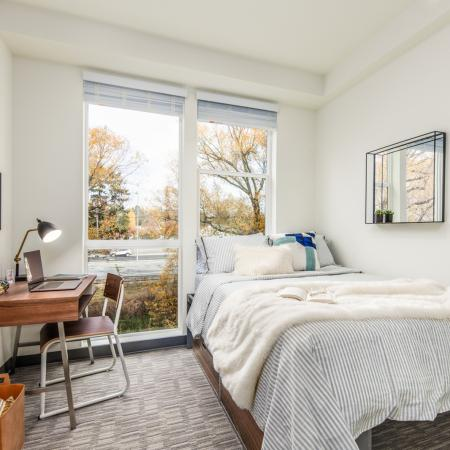 bedroom, apartments, student housing