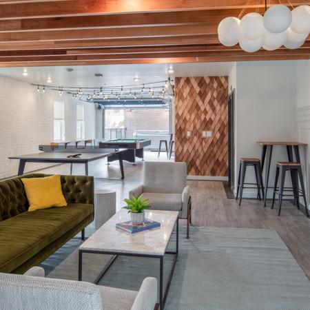 game room, amenities, apartments in Pullman