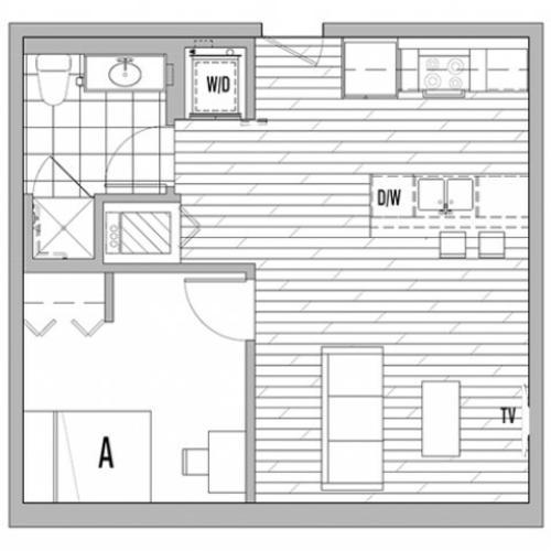 1x1 C Terrace