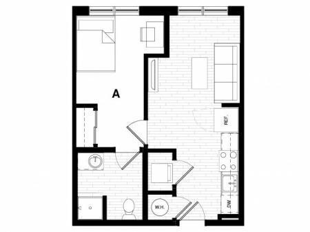 1x1 Terrace A1-A