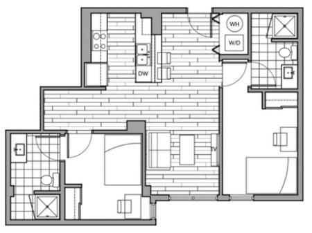 Floorplan 28 | Rise on 9th