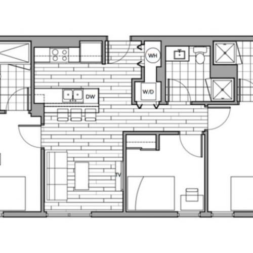 Floorplan 32 | Rise on 9th