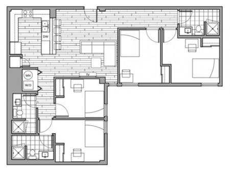 Floorplan 20 | Rise on 9th