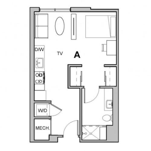 1x1 Junior A Penthouse - Waitlist