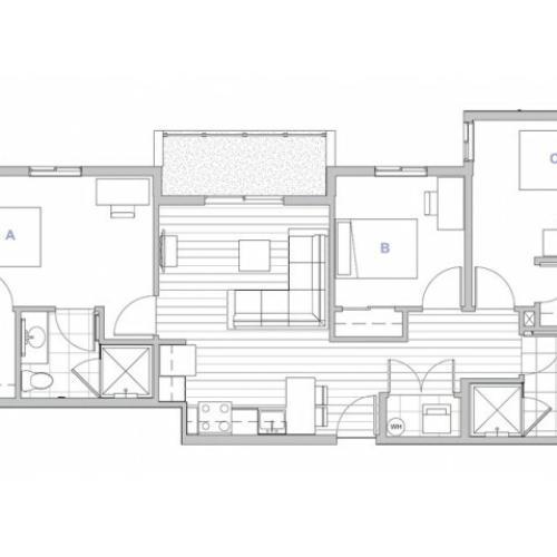 3x2 Penthouse Master Suite-waitlist