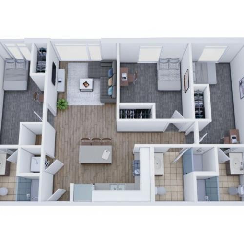 3x3 Terrace