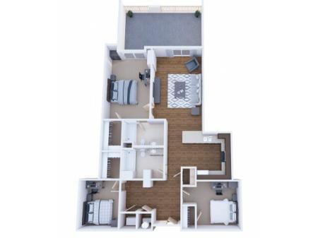 3x2D Bedroom A- Waitlist
