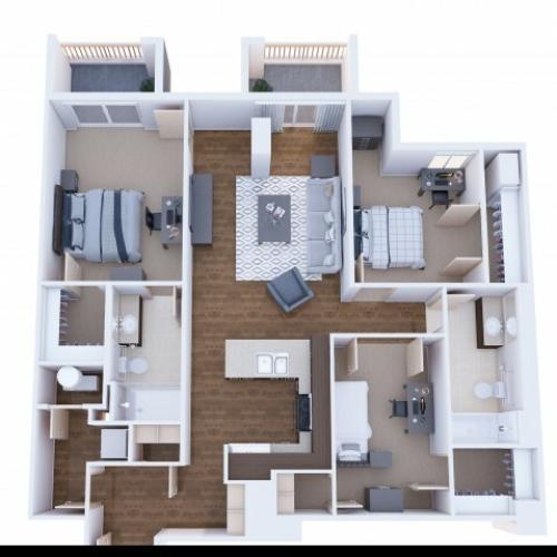 3x2L Bedroom A-waitlist