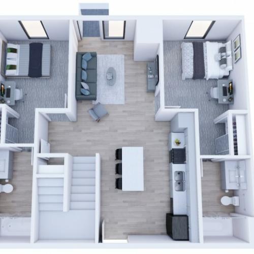 4x4 Loft Private Access - Less than 5