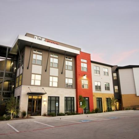 Modern Dallas Apartments | Huge clubhouse at our LBJ Station Ltd in Dallas TX.