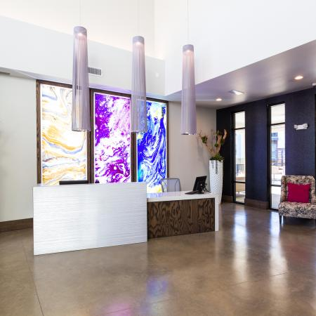 Modern Dallas Apartments | modern interior design at our Dallas Texas apartments.