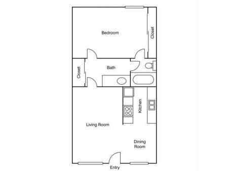 Diverse Floor Plans   Apartments Uc Davis   University Court