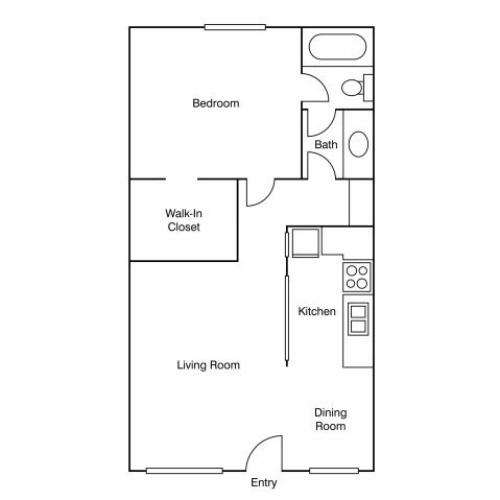 Floor Plan 5 | Apartments Uc Davis | University Court
