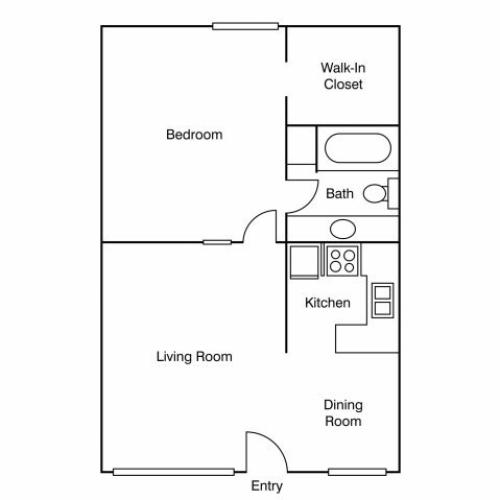 Floor Plan 7 | Apartments Near UC Davis | University Court