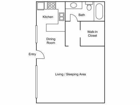 Floor Plan 17   Apartments Near UC Davis   University Court