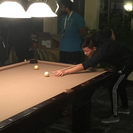 Billiards Tournament | Davis California Apartments for Rent | University Court