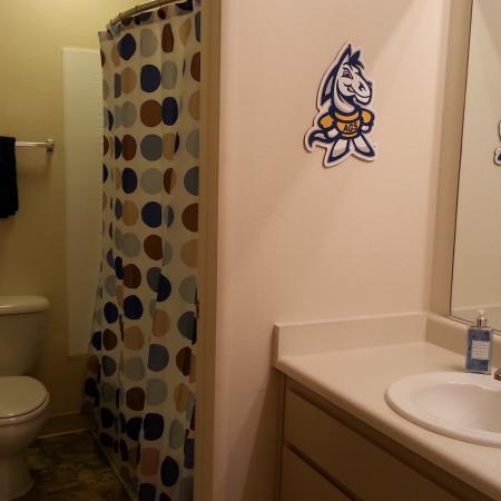 Spacious Bathroom | University Court
