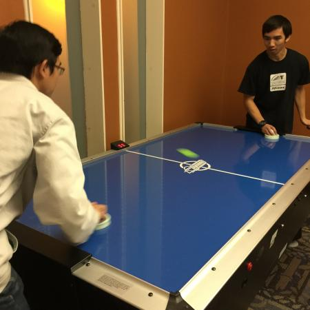 Air Hockey at Davis Rentals | Apartments in Davis | University Court