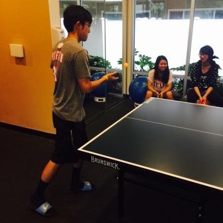 Table Tennis Tournament   Apartments in Davis   University Court