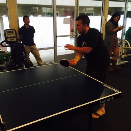 Table Tennis   Apartments in Davis   University Court