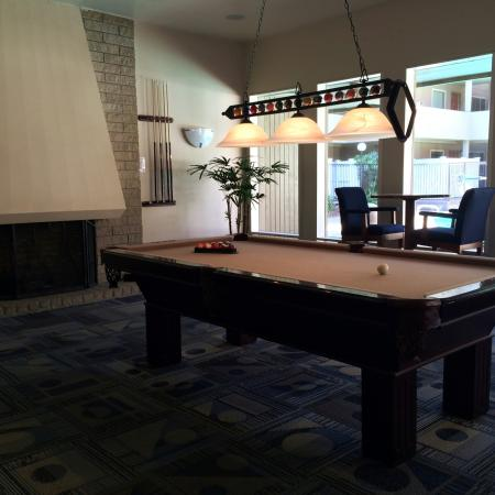 Residents Playing Pool   University Court