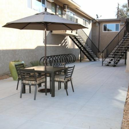 Community Sun Deck | Apartments In Fresno CA | University Place