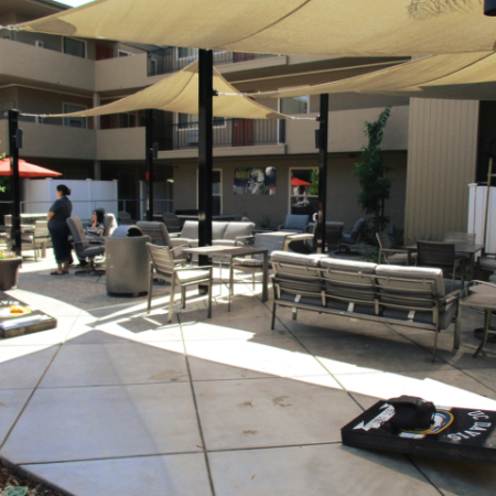 Community Sun Deck | University Court