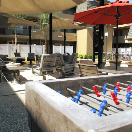 Resident Foosball Table | University Court
