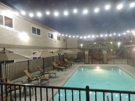 Lounging by the Pool | University Place