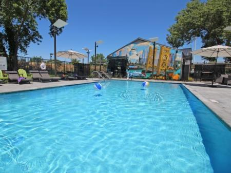 Resort Style Pool | University Village (Riverwalk II)