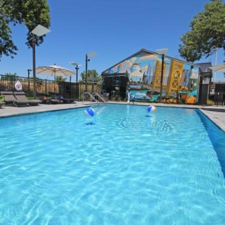 Swimming Pool | Apartments Near Sacramento State | University Village