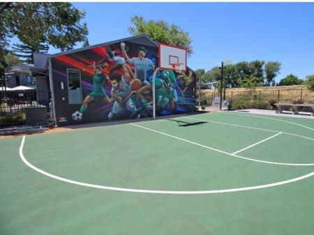 Community Basketball Court | University Village (Riverwalk II)