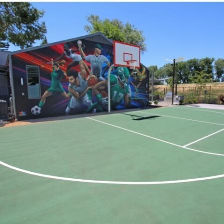 Community Basketball Court | Sacramento State Apartments | University Village
