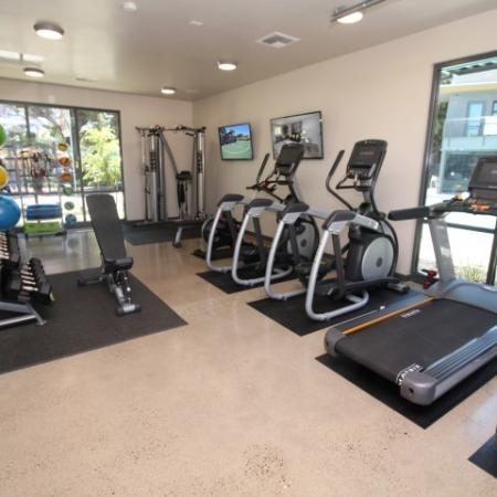 State-of-the-Art Fitness Center | Apartments Near Sacramento State | University Village